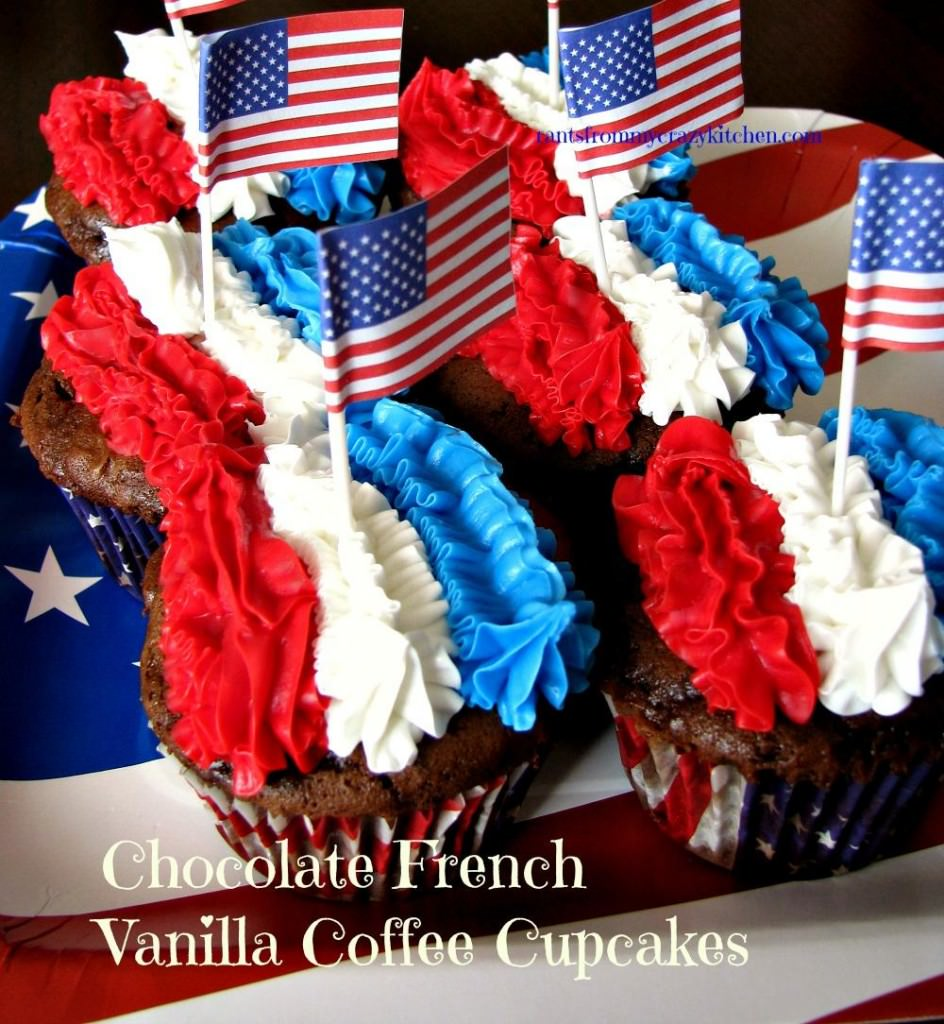 French-Vanilla-Coffee-Cupcakes