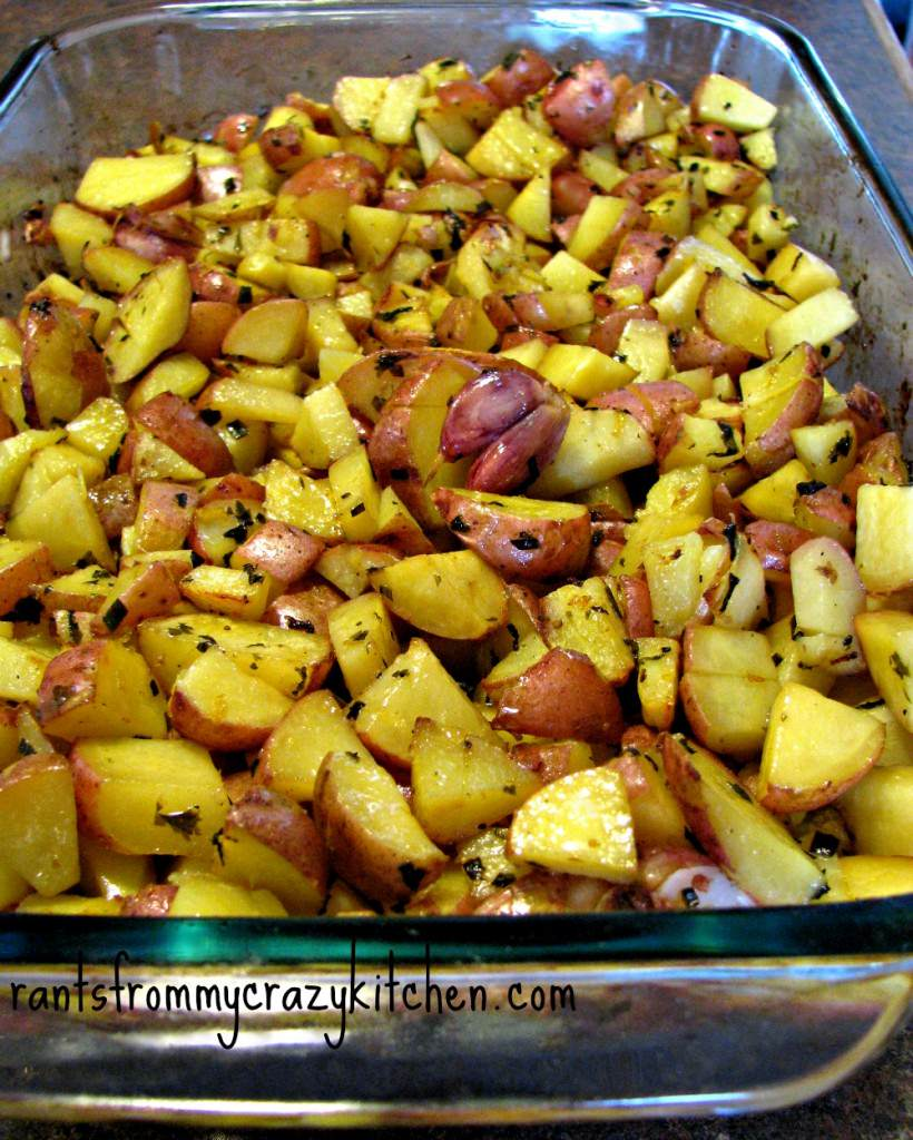 Flavoring with Lemon Instead of Salt: Lemon Herb Roasted Potatoes ...