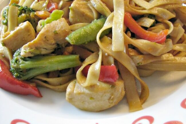 Chicken Lo Mein- Learn how to make better and quicker than take out!