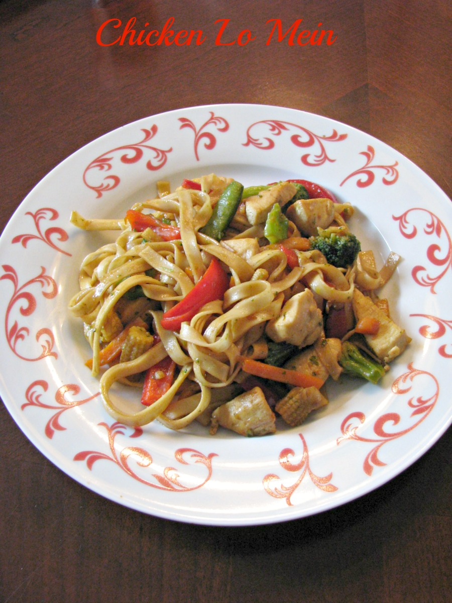 Quick and easy Chicken Lo Mein. Better and faster than take-out!
