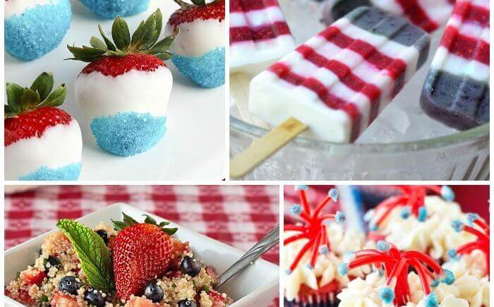 10+ Perfectly Patriotic 4th of July Recipes