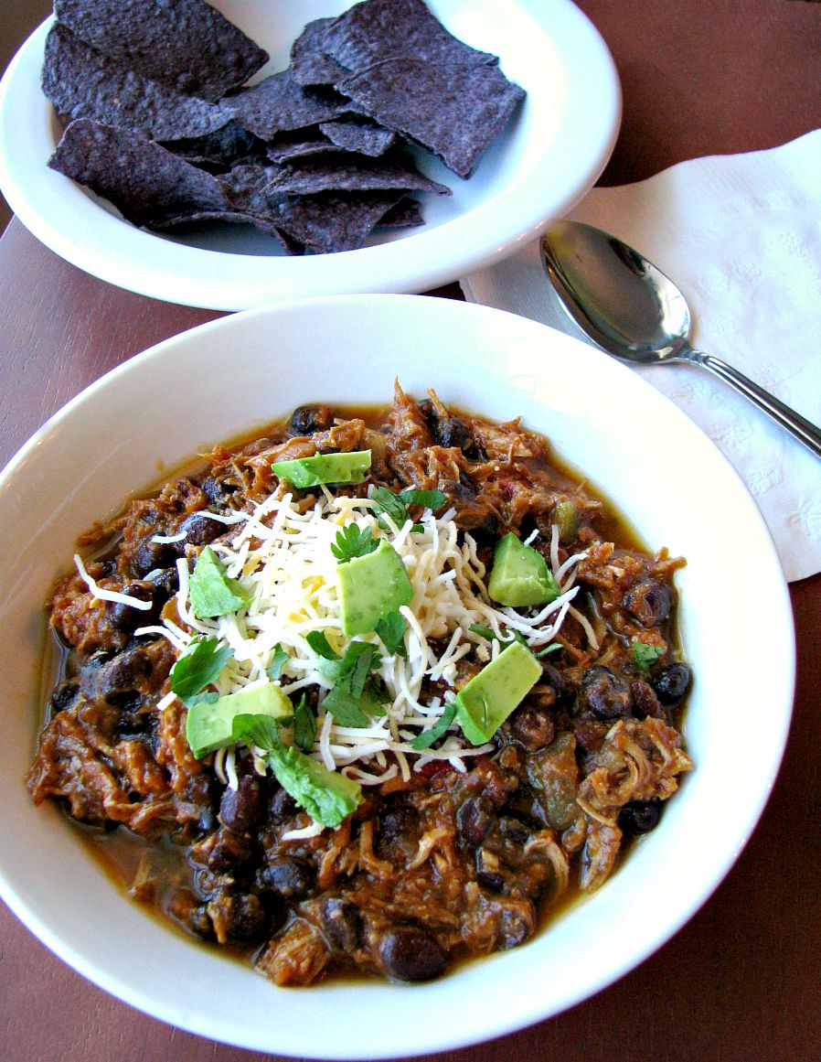 Southwest Shredded Chicken 3 Bean Chili Recipes — Dishmaps