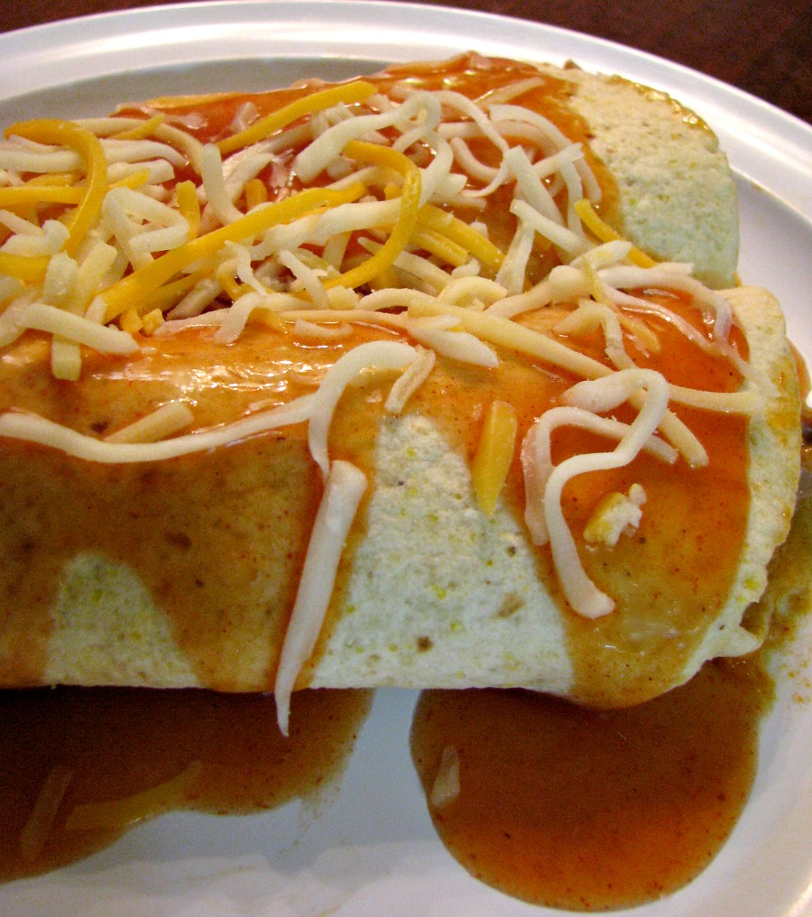 Easy to prepare Slow Cooker Pork Enchiladas.